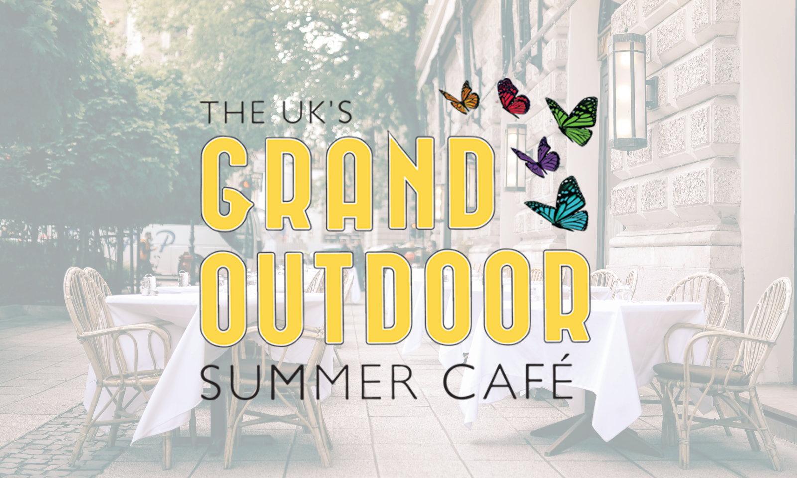 UK Grand Outdoor Summer Cafe logo