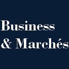 Business et marché logo